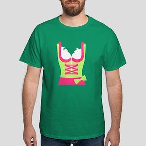 Dirndl Oktoberfest dress Dark T-Shirt