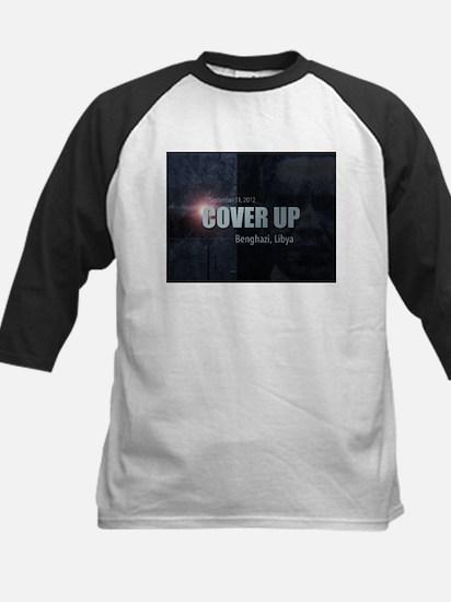 Benghazi Cover Up Kids Baseball Jersey