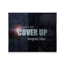 Benghazi Cover Up Throw Blanket