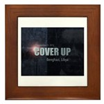 Benghazi Cover Up Framed Tile