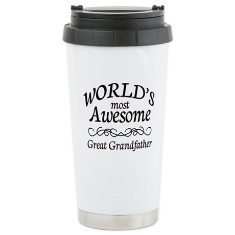 Awesome Stainless Steel Travel Mug