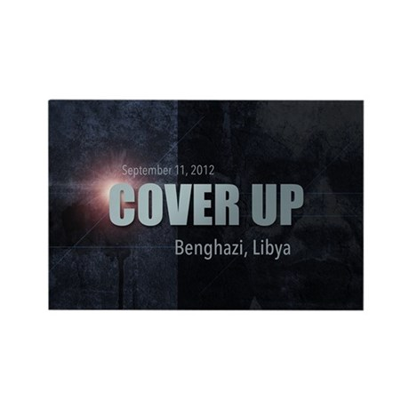 Benghazi Cover Up Rectangle Magnet (10 pack)