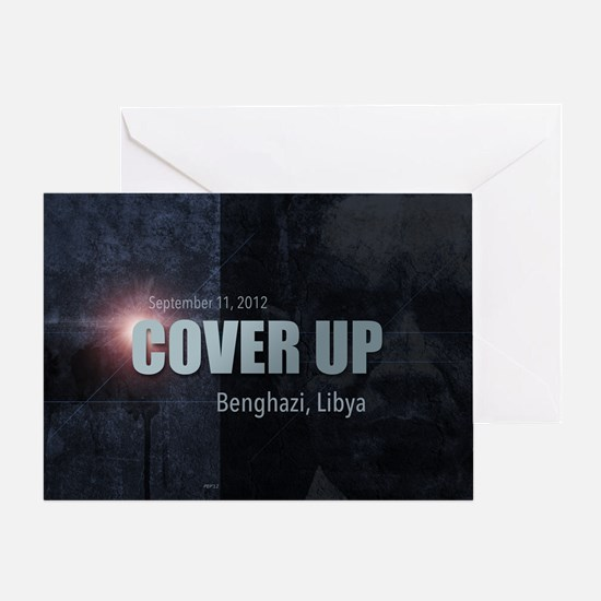 Benghazi Cover Up Greeting Card