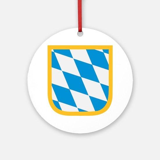 Bavaria flag Ornament (Round)
