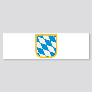 Bavaria flag Sticker (Bumper)