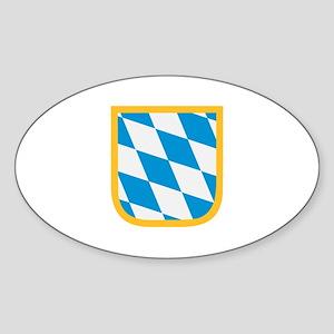 Bavaria flag Sticker (Oval)