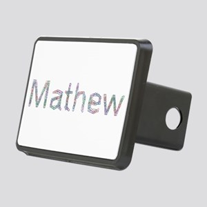 Mathew Paper Clips Rectangular Hitch Cover