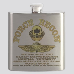 Force Recon We Promise Flask