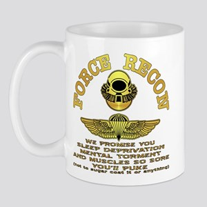 Force Recon We Promise Mug