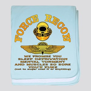 Force Recon We Promise baby blanket