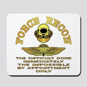 Force Recon The Difficult Mousepad