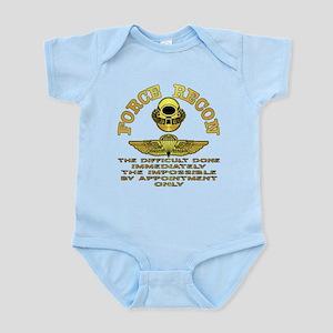 Force Recon The Difficult Infant Bodysuit