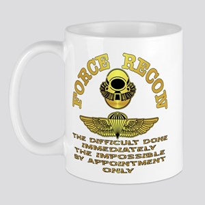 Force Recon The Difficult Mug