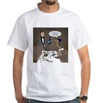Ostrich Fine Dining White T-Shirt