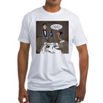Ostrich Fine Dining Fitted T-Shirt