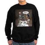 Ostrich Fine Dining Sweatshirt (dark)