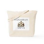 Canadian DIVA Tote Bag