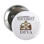 BIRTHDAY DIVA Button