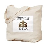 BIRTHDAY DIVA Tote Bag