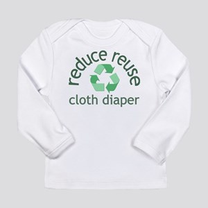 Recycle & Cloth Diaper - Long Sleeve T-Shirt