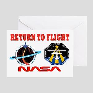 Return To Flight Greeting Cards (Pk of 10)