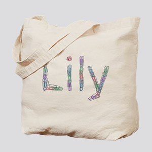Lily Paper Clips Tote Bag
