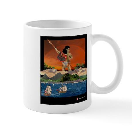 Mug, The Last Hawaiian Koa Warrior