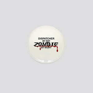 Dispatcher Zombie Mini Button