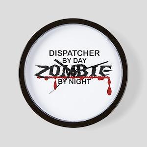 Dispatcher Zombie Wall Clock