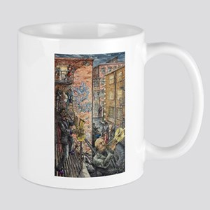Back Alley Blues Mug