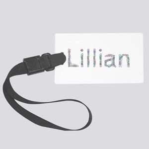 Lillian Paper Clips Large Luggage Tag