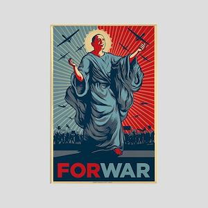 Obama For War Rectangle Magnet