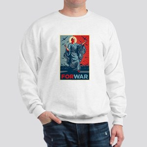 Obama For War Sweatshirt