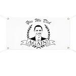 Obama Yes We Did Again V2 BW Banner