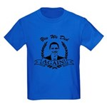 Obama Yes We Did Again V2 BW Kids Dark T-Shirt