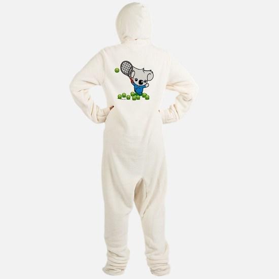 Tennis Koala Bear Footed Pajamas