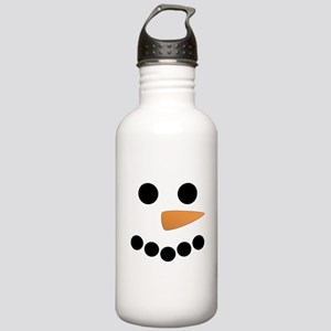 Snowman Face Stainless Water Bottle 1.0L