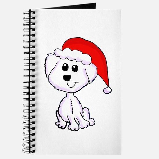 Christmas Yorkie Journal