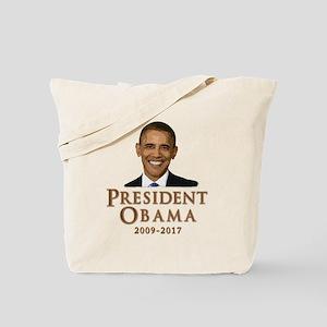 Obama 2009 - 2017 Tote Bag
