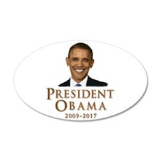 Obama 2009 - 2017 Wall Decal