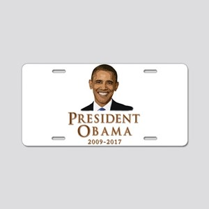 Obama 2009 - 2017 Aluminum License Plate