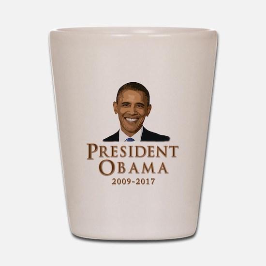 Obama 2009 - 2017 Shot Glass