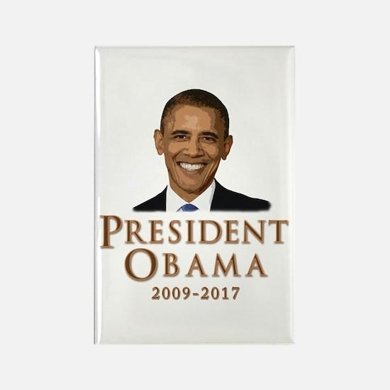 Obama 2009 - 2017 Rectangle Magnet