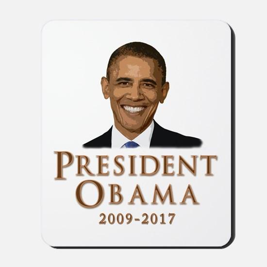 Obama 2009 - 2017 Mousepad