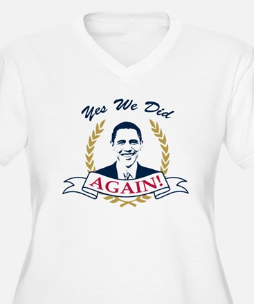 Obama Yes We Did Again V2 Color T-Shirt