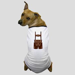 Leather trousers bavaria Dog T-Shirt