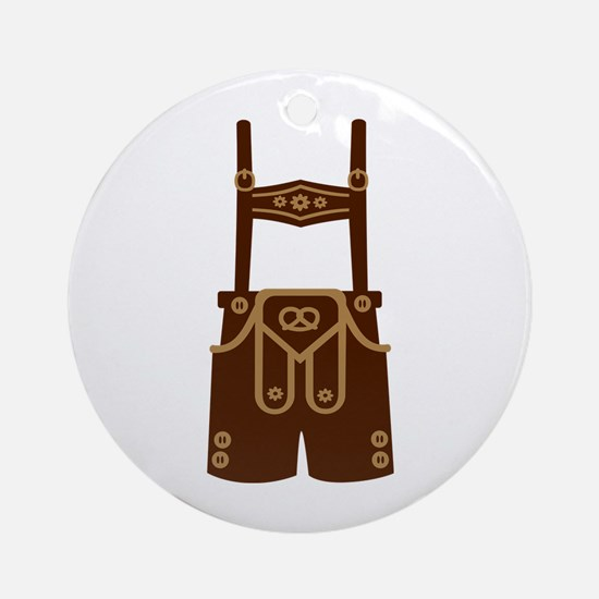Leather trousers bavaria Ornament (Round)