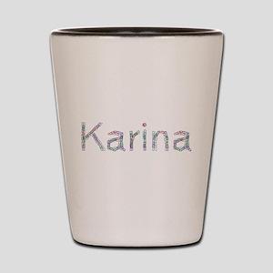 Karina Paper Clips Shot Glass