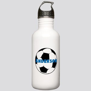 Personalized Soccer Stainless Water Bottle 1.0L