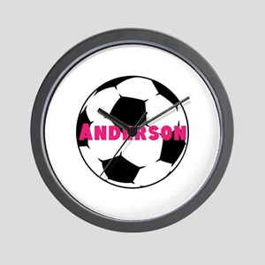 Personalized Soccer Wall Clock